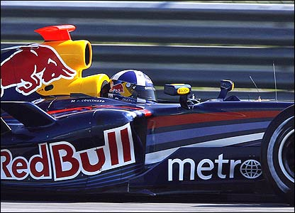 David Coulthard of Red Bull